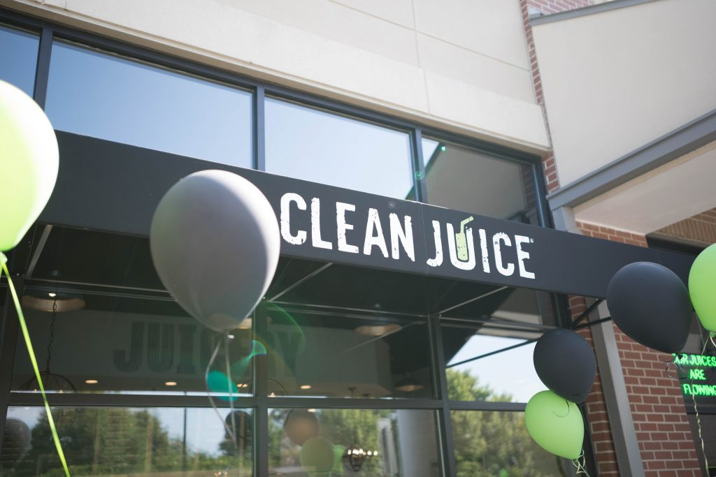 an organic juice franchise