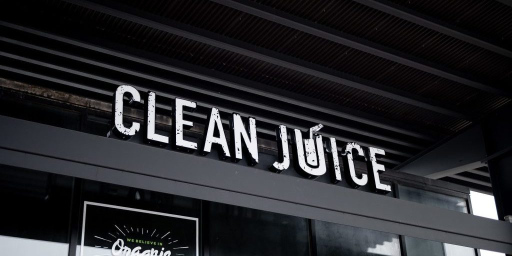 clean juice sign, multi-unit franchising